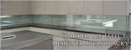 Cracked Ice Kitchen Splashbacks