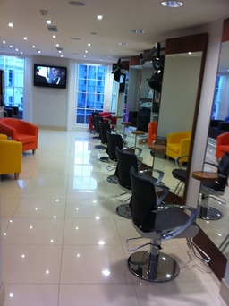 Ministry of Hair 2nd floor of Salon
