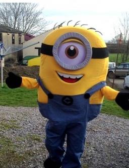 Minion mascot costume from £40