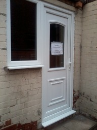 New Window and Door Fitted