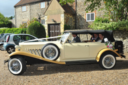 Beauford Wedding Car Hangleton Manor Brighton