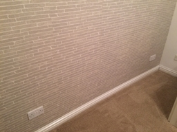 Bedroom Papered