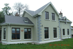 recently completed house turnkey