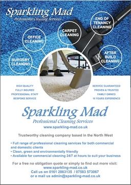 Sparkling Mad Leaflet Front