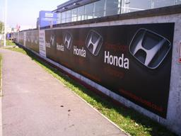 Exterior Hoarding Signage