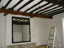 Restoration of Oak beams