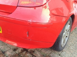 Red Bmw 1 Series Body Repair