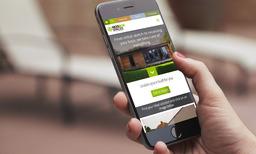ModBox Spaces mobile responsive web design