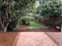 decking and landscaping