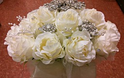 Diamante Bridal Bouquet