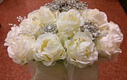 Diamante Bridal Bouquet