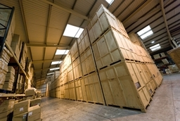 Warehouse containerised storage