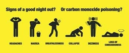 Carbon Monoxide Poisoning.....Get an alarm fitted today