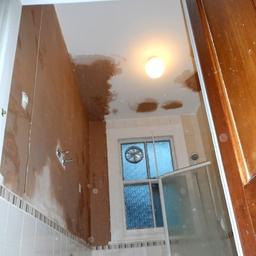 Bathroom just plastered