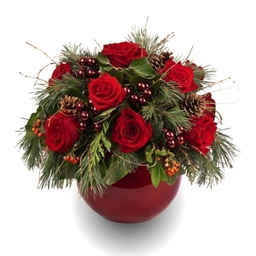 Seasonal Rose Arrangements - to order for delivery on our website