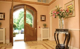 Tregolls Manor Care Home Main Lobby