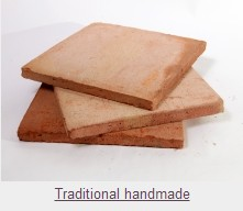 Traditional Handmade Terracotta Tiles