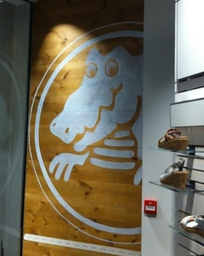 Traditional Sign Writing for Shop Fit-outs