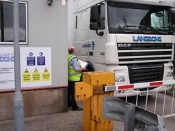 Logistics Depot gate security