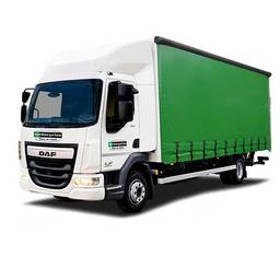 Curtainside truck hire