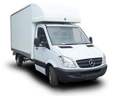 Luton Mercedes Van