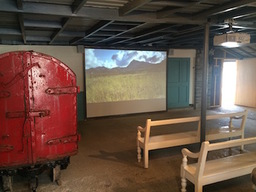 Visitor attraction projection system