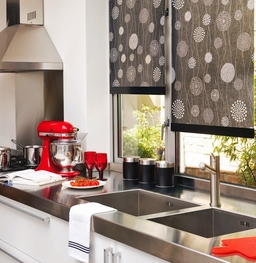 Funky Kitchen Blinds