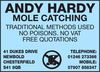 Andy Hardy Mole Catching
