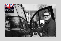 MPV taxis in Farnborough by Dinez Taxis