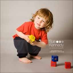 Child photography by Sue Kennedy Photography
