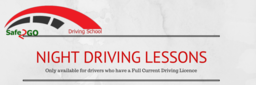 Safe2GO Driving Lessons in Darlington, Bishop Area