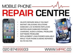 Most repairs carried out While You Wait or Same Day at the Best Prices in London