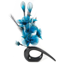 Artificial flowers, fillers and displays.