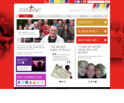 Jesus Army - 5 drupal websites