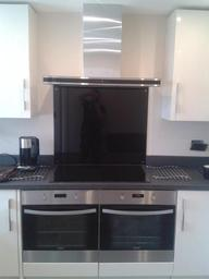 Hob, double over & extractor fan installation