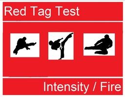 Red Tag for INTENSITY/FIRE
