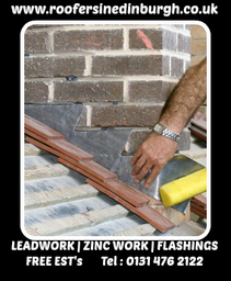 Roofers In Edinburgh |Leadwork|Zinc Work|Flashings