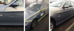 Repairing car body work