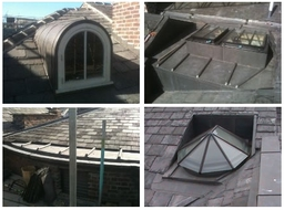 Many types of lead roofs
