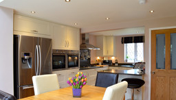 Bespoke Shaker style kitchen.
