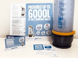 Lifesaver systems marketing collateral