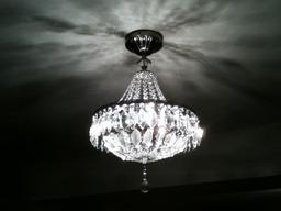 New light fittings.