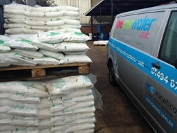 Loveyourwater Salt Delivery Van