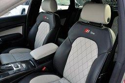Custom leather interior, vehicle leather interior