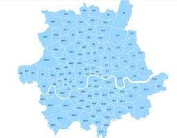 London areas covered by PaintJoy