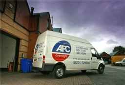 Apc Overnight Nexday Overnite Van Logo Picture