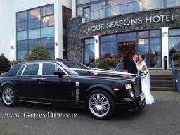 Phanthom Rolls Royce at a Carlingford wedding 2012