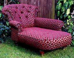 Childrens Chaise Longue - Butterbur Back Design