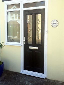 Composite door installation in Eastbourne