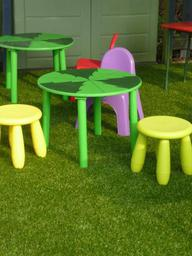 Artificial grass school play area for a nursery school in Oxfordshire